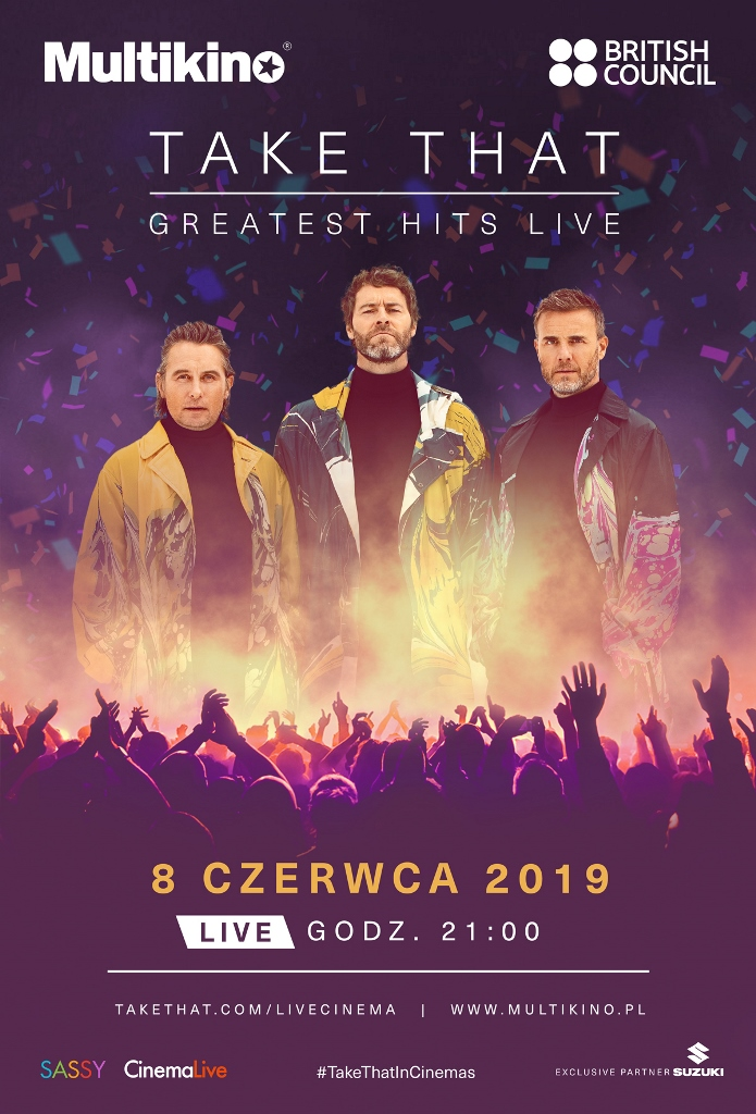 Bilety na: Take That: Greatest hits LIVE