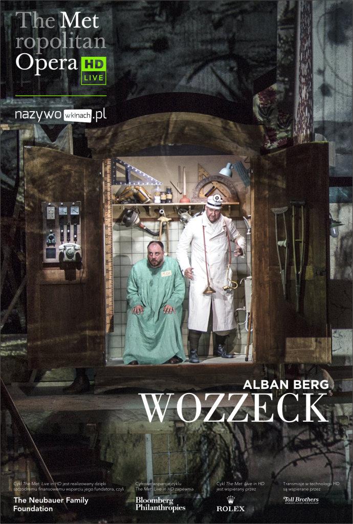 Met Opera: Wozzeck LIVE